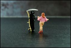 """Miniature People """"Death is incorruptible."""" En attendant Godot / Waiting for Godot"""