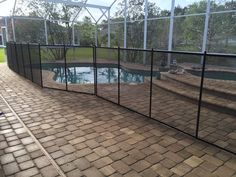 Pools Ponce Inlet - Don't wait until summer to get your pool fence installed. #PoolSafetyFence #PoolSafety