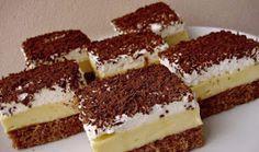 """Se prepară ușor și are un gust divin - Prăjitura """"Înghețată falsă"""" Healthy Diet Recipes, Cooking Recipes, Sweets Recipes, Cake Recipes, Czech Recipes, Romanian Food, Food Cakes, Sweet And Salty, Sweet Desserts"""