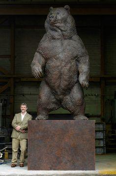 brown bear indomitable - Nick Bibby