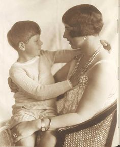 """carolathhabsburg: """" Pss Helena of Romania, nee pss of Greece with son, Current King Mihai I. My King, King Queen, Michael I Of Romania, Romanian Royal Family, Old Fashioned Photos, Greek Royalty, Royal Photography, Central And Eastern Europe, Royal Blood"""
