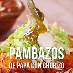 ideas for diy food recipes meals cooking I Love Food, Good Food, Yummy Food, Tasty Videos, Food Videos, Mexican Cooking, Mexican Food Recipes, Mexican Breakfast Recipes, Dinner Recipes