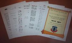 Sets of printable pages for kids play (doctor, vet, school and secret agent) for $5 each.