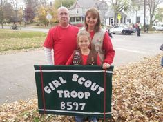 The Waun Family from Jonesboro, IL is proud of its Girl Scouting tradition!