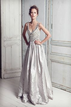 Silver wedding dress... inspired!