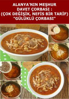 An easy, delicious and quite satisfying soup recipe for weddings and special occasions of Alanya dis Casserole Recipes, Soup Recipes, Snails Recipe, Chicken Korma Recipe, Turkish Recipes, Ethnic Recipes, Baked Pasta Recipes, Wedding Soup, Baked Fish