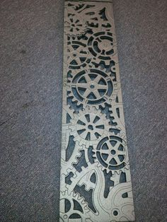 Iron Age Designs - Dynamo trench drain :: perfect for our driveway! Love this design, looks like industrial gears :)
