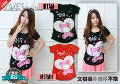 Kaos Hello Kitty Love 571509 R82, Ready stock, Untuk pemesanan dan informasi silahkan hubungi Admin di:  HP/WhatsApp: 085259804804