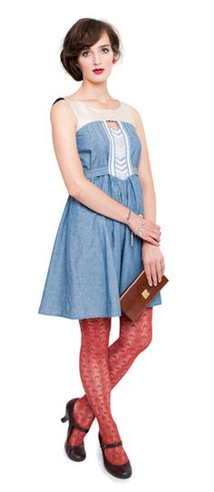Anouk Dress by Victory Patterns  @Amy Leeangella I can see us both in this pattern with different fabrics!