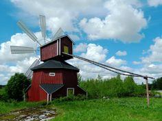 Windmill Luhtas-Köykkä. - Jalasjärvi, Luopajärvi, South Ostrobothnia province, Finland.