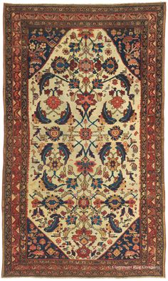 MALAYER, Northwest Persian 4ft 7in x 8ft 2in Circa 1875