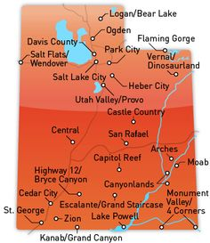 WY/UT/NV Road Trip - Utah Travel Site (an actual helpful state tourism website!)