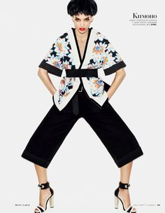 Japanese inspired fashion wear & conquer: madison headrick and cora emmanuel by matt irwin for vogue russia march 2013 | visual optimism; fashion editorials, shows, campaigns & more!