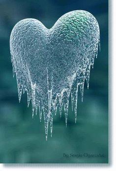 Iced Heart...beautiful!