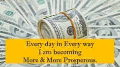 34 Affirmations for Prosperity and Wealth that work, Affirmations for Prosperity, Daily Affirmations Prosperity Affirmations, Money Affirmations, Positive Affirmations, Attract Money, Think And Grow Rich, Positive Thoughts, Law Of Attraction, Self Help, Positivity