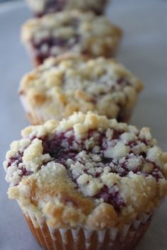 Raspberry Sour Cream Coffee Cake Muffins with Lemon Streusel Crumb Topping.~T~ I love these muffins. You can make them with raspberries, black raspberries, blueberries etc.