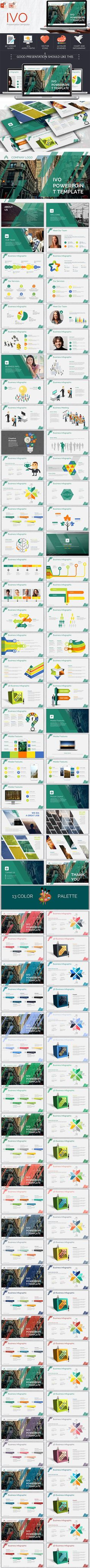 IVO Powerpoint Template #design Download: http://graphicriver.net/item/ivo-powerpoint-template/12321666?ref=ksioks