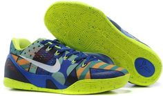 """7260e6aa2a66 Find Nike Kobe 9 EM """"Brazil"""" Game Royal White-Venom Green For Sale  Authentic online or in Pumaslides. Shop Top Brands and the latest styles Nike  Kobe 9 EM """" ..."""