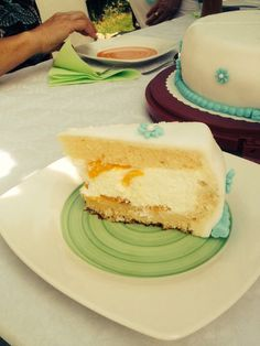 Fondant cake, KäseSahne mit Mandarinen