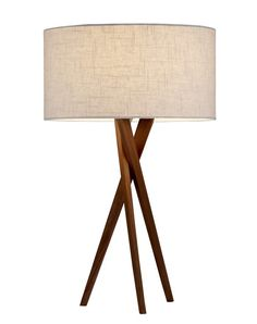 """Owen 25"""" H Table Lamp with Drum Shade"""