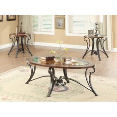 Found it at Wayfair - 3 Piece Coffee Table Set