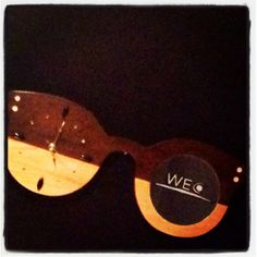Our first eyewear inspired clock!
