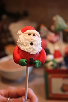 Santa Cake Pop