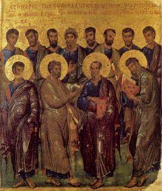 Собор 12-ти Апостолов: жития, иконы, молитвы, проповеди (+Видео)   Православие и мир