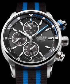 Maurice Lacroix Pontos S #MauriceLacroix Swiss Watchmakers  #horlogerie @calibrelondon