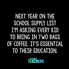 Teacher Humour, Teaching Humor, Teaching Quotes, Teacher Stuff, Teaching Ideas, Teaching Reading, Preschool Ideas, Bored Teachers, Funny Quotes