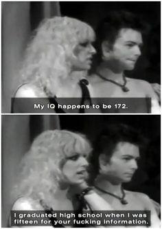 Sid and Nancy - Bashing judgements based on looks.