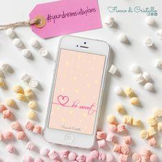 [FREE FOR YOU]⠀⠀ Benvenuto febbraio, un mese di cuoricini, dolcetti e coccole. Il mese dell'amore e della dolcezza quindi...BE SWEET!!⠀⠀ Voglio augurati un mese di dolcezza!!⠀⠀ Sul blog ti spiego perchè ho scelto questo sfondo, quindi segui il link in bio, scarica lo sfondo e condivi le tue foto con #yourdreamsintoplans e #besweet!⠀