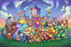 """Toys For Bob on Twitter: """"November 13th, here we come! #SpyroReignitedTrilogy #UnleashTheDragon #ArtOfReignited… """""""