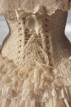 Beautiful lace corset