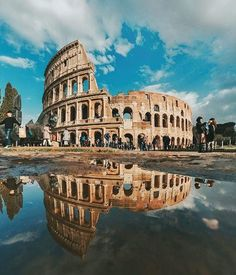 Very beautifully captured - Colosseum, Rome! #colosseum #rome #italy