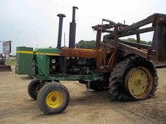 John Deere 4430 tractor salvaged for used parts. This unit is available at All States Ag Parts in Salem, SD. Call 877-530-4010 parts. Unit ID#: EQ-24561. The photo depicts the equipment in the condition it arrived at our salvage yard. Parts shown may or may not still be available. http://www.TractorPartsASAP.com