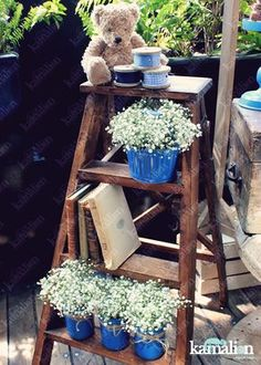 www.kamalion.com.mx - Mesa de Dulces / Candy Bar / Postres / Lader / Azul / Blue / Rustic Decor / Dulces / Vintage / Madera / Lechero / Maletas / It's a boy / Vintage / Mason Jars / Teddy / Bautizo.