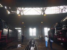 Ausstellungsort 1: Lokschuppen des Eisenbahnmuseums