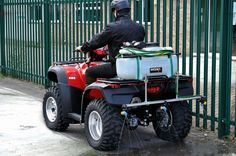 The Wessex ATV/UTV brine sprayer is based on the popular WS618p sprayer but it has a 1 metre boom with three individual clusters of nozzles…