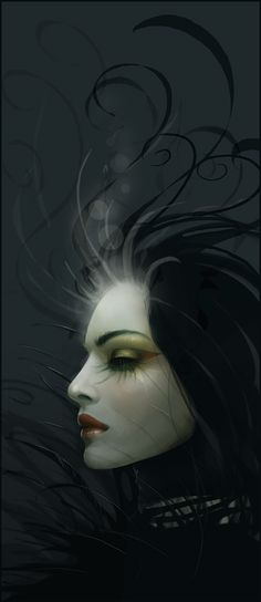 Goth:  Lady Darkness...