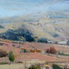 """Chelsea Bentley James - Flurry. Oil on panel, 12""""x12"""""""