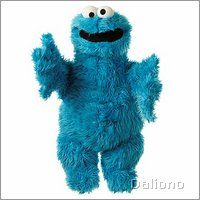 Living Puppets hand puppet Cookie monster large