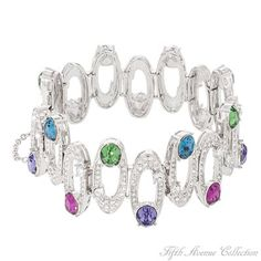 Rhodium Bracelet - Lights, Camera, Action! - Australia - Fifth Avenue Collection - Jewellery that changes the way you see fashion