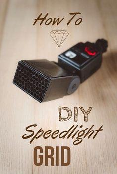 How To Make a DIY Honeycomb Strobe / Flash / Speedlight Grid with Straws - DIY Photography Flash Photography Tips, Photography Lighting Techniques, Photography Lighting Setup, Photo Lighting, Photography Backdrops, Photography Tutorials, Light Photography, Creative Photography, Portrait Lighting