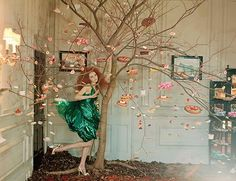 Ooh ! Un arbre à pâtisserie - Pastry Tree // Tim Walker Photography