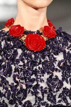 Oscar dela Renta Spring/Summer 2013 Accessories (Jewelry)