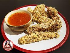 Sesame Chicken Fingers   Mutherfudger #recipe #chinese #sesame