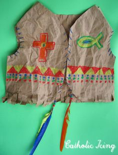 Native american vest craft