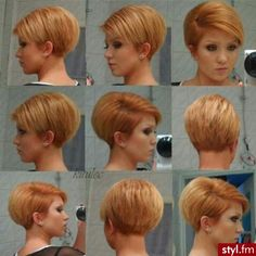 Hair Beauty - beauty,coiffeur-The latest information from the world of stars, fashion, beauty, hairstyles. Short Wedge Haircut, Pixie Haircut For Thick Hair, Short Hair Undercut, Short Hairstyles For Thick Hair, Haircuts For Fine Hair, Short Hair With Layers, Short Hair Cuts For Women, Pixie Hairstyles, Short Hair Styles