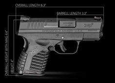 springfield xds .45 | The XDS is coming out in stores soon, and it is a nifty gun because it ...
